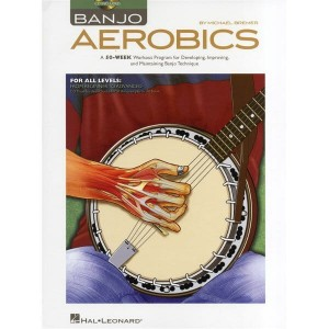Banjo Aerobics for all levels from Beginner to Advanced (+ płyta CD) - Michael Bremer - szkoła gry na banjo