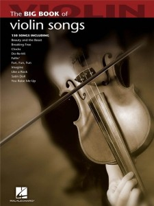 The Big Book Of Violin Songs - nuty na skrzypce solo
