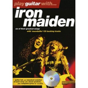 Play Guitar with Iron Maiden - nuty na gitarę z tabulaturą (+ płyta CD)