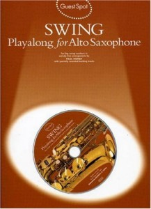 Guest Spot: Swing Playalong For Alto Saxophone - nuty na saksofon altowy (+ płyta CD)