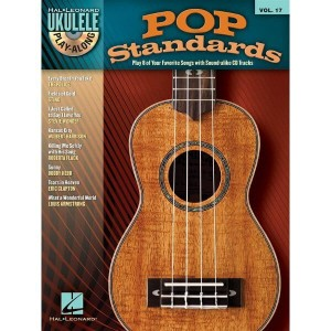 Ukulele Play-Along Volume 17: Pop Standards - nuty na ukulele (+ płyta CD)