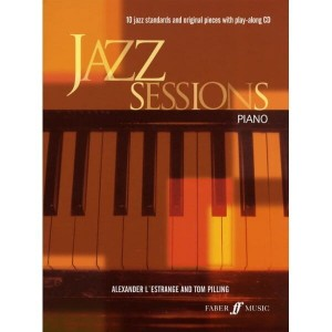 Jazz Sessions - Piano - 10 jazzowych standardów na fortepian (+ płyta CD)