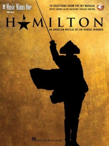Hamilton - 10 Selections from the Hit Musical (+ audio online) - piosenki z musicalu Hamilton - nuty na głos z fortepianem