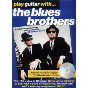 Play Guitar with Blues Brothers - nuty na gitarę z tabulaturą (+ płyta CD)