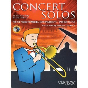 Concert Solos For The Young Trombone / Bassoon Player (+ płyta CD) - 12 utworów koncertowych na puzon / fagot