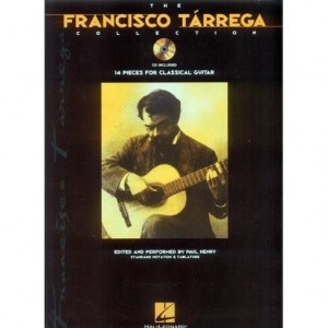 The Francisco Tarrega Collection. 14 Pieces For Classical Guitar - nuty na gitarę - Henry