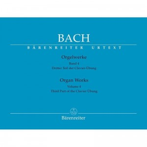 Bach J.S. - Organ Works Volume 4 - Orgelwerke Band 4 - Third Part of the Clavier Ubung - Utwory organowe część 4