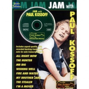 Jam with Paul Kossoff - nuty i tabulatury na gitarę