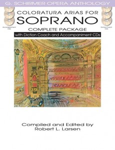 Coloratura Arias For Soprano - Complete Package - nuty na głos z fortepianem (+ 6 płyt CD)