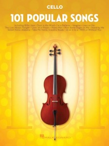 101 Popular Songs: Cello - nuty na wiolonczelę