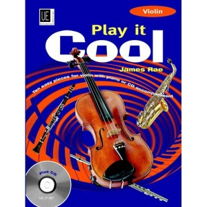 James Rae - Play it Cool - Violin (+ płyta CD) - nuty na skrzypce z fortepianem