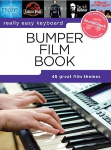 Really Easy Keyboard: Bumper Film Book - nuty i akordy na keyboard w łatwym opracowaniu (+ audio online)