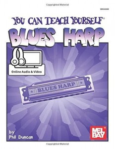 You Can Teach Yourself Blues Harp (+ audio online) - Duncan - samouczek, szkoła gry bluesa na harmonijce ustnej