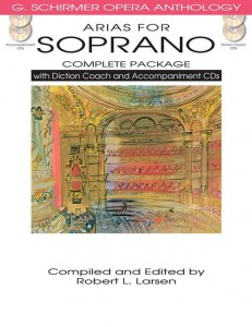 Arias For Soprano - Complete Package - nuty na głos z fortepianem (+ 4 płyty CD)
