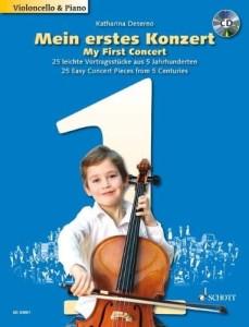 PIerwsze utwory koncertowe na wiolonczelę