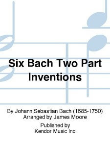 Six Bach Two Part Inventions for Mallet Duet - duety na melodyczne instrumenty perkusyjne