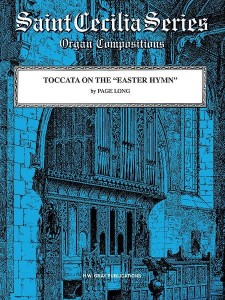 Page C. Long: Toccata on the Easter Hymn - nuty na organy
