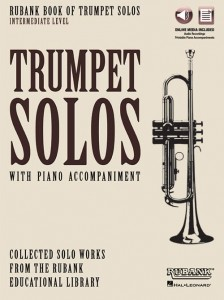 Rubank Book of Trumpet Solos - Intermediate Level (+ audio online) - nuty na trąbkę z fortepianem