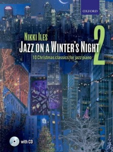 Nikki Iles - Jazz On A Winter's Night 2 - 10 Christmas Classic For Jazz Piano - nuty na fortepian (+ płyta CD)