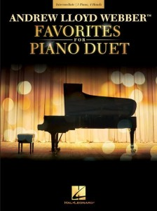 Andrew Lloyd Webber: Favorites for Piano Duet - nuty na fortepian na cztery ręce