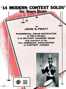 John S. Pratt: 14 Modern Contest Solos for Snare Drum - nuty na werbel