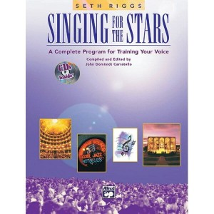 Singing For The Stars - Riggs - (+ 2 płyty CD) - kompletny program do trenowania głosu