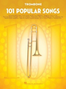 101 Popular Songs: Trombone - nuty na puzon