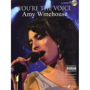 Amy Winehouse - You're The Voice (+ płyta CD) - nuty na fortepian, wokal i akordy gitarowe