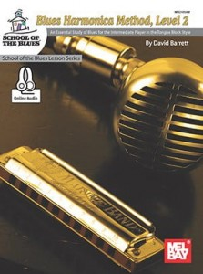 Barrett: Blues Harmonica Method Level 2 (+ audio online) - szkoła gry na harmonijce ustnej