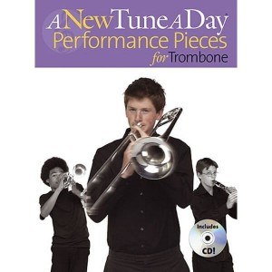 A New Tune A Day: Performance Pieces for Trombone - nuty na puzon (+ płyta CD)
