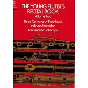 Young Flutist's Recital Book 2 - Three Centuries of Flute Music - Moyse - nuty na flet z fortepianem
