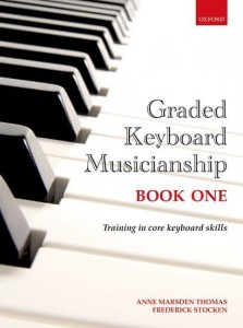 Graded Keyboard Musicianship Book 1 - Thomas, Stocken - podręcznik dla pianistów i organistów