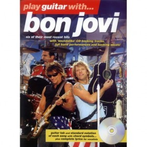 Play Guitar with Bon Jovi - nuty na gitarę z tabulaturą (+ płyta CD)