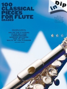 Dip In: 100 Classical Pieces For Flute Graded - nuty na flet poprzeczny
