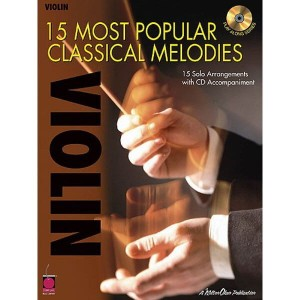 15 Most Popular Classical Melodies - Violin - nuty na skrzypce solo (+ płyta CD)