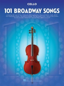 101 Broadway Songs: Cello - nuty na wiolonczelę