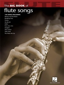 The Big Book Of Flute Songs - nuty na flet poprzeczny solo