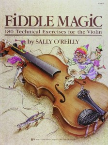 Sally O'Reilly: Fiddle Magic - 180 Technical Exercises for the Violin - ćwiczenia techniczne na skrzypce
