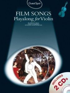 Guest Spot: Film Songs Playalong For Violin - nuty na skrzypce (+ 2 płyty CD)