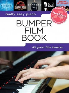 Really Easy Piano: Bumper Film Book - łatwe utwory na fortepian (+ audio online)