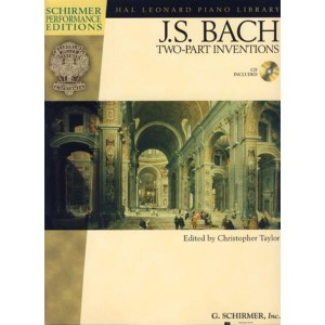 Bach J.S. - Two Part Inventions (+ audio online) - nuty na fortepian