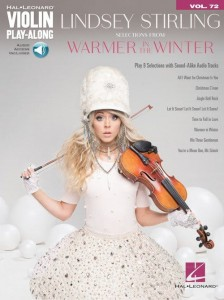 Lindsey Stirling: Warmer in the Winter - Violin Play-Along Volume 72 - nuty na skrzypce (+ audio online)