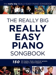 The Really Big Really Easy Piano Songbook - nuty na fortepian w łatwym układzie
