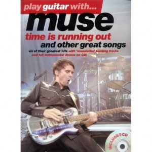 Play Guitar with Muse - Time is running out and other great songs - nuty i tabulatury na gitarę elektryczną (+płyta CD)