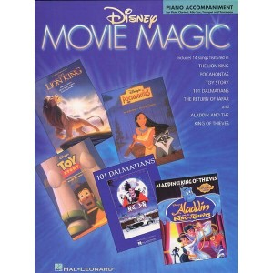 Disney Movie Magic: Piano Accompaniment For Flute, Clarinet, Alto Sax, Trumpet And Trombone - akompaniament fortepianowy