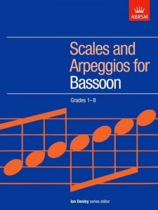 Scales and Arpeggios for Bassoon (Grades 1-8) - gamy i pasaże na fagot