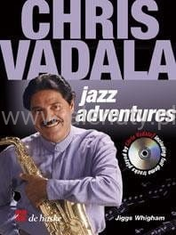 Chris Vadala - Jazz Adventures (+ płyta CD) - nuty na saksofon altowy
