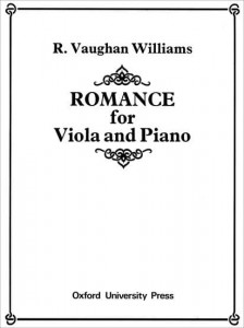 Vaughan Williams: Romance for Viola and Piano - nuty na altówkę i fortepian
