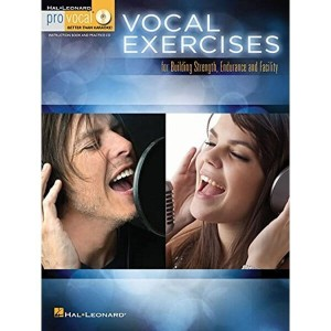 Pro Vocal: Vocal Exercises For Building Strength, Endurance And Facility - nuty na głos z tekstem i akordami gitarowymi (+ płyta CD)