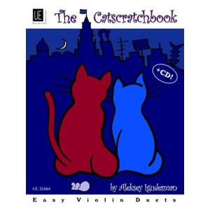 Aleksey Igudesman - The Catscratchbook - łatwe duety na skrzypce (+ płyta CD)